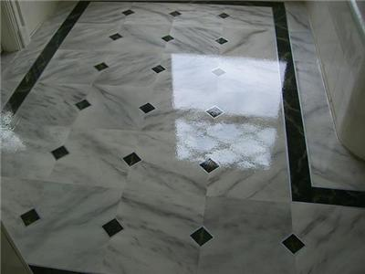 Marble Bathroom Design on Layer Of Protection To Your Marble Or Granite Floor Tiles