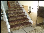 Granite Staircase | Vinyl Laminate