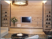 Wall Feature | Travertine